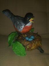 Lenox Fine Porcelain American Robin 1989 - Garden Bird Collection Figurine