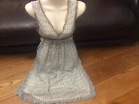 UTTAM LONDON DRESS SIZE S 8 10 hippie boho summer