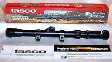 Tasco 3-7 X 20mm .22 Rifle or Air Gun Scope & Rings R37X20