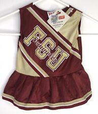 Florida State Seminoles Cheerleader Dress FSU Baby 24 Months Officially Licensed