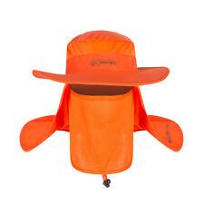 Bucket Hat Fishing Hunting Boonie Cap Unisex Military Wide Brim Hat w/ Sun Mask