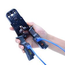 Network Tool Test Crimping Pliers Tester Crimper Cable Stripper Detachable Cable