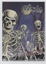 2014 Perna Studios Hallowe'en: All Hallows' Eve 16 Skeletons Non-Sports Card 3t4