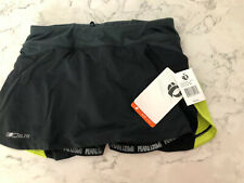 PEARL IZUMI WOMEN'S ELITE INFINITY RUN SKIRT, Black/Lime, S, NWT