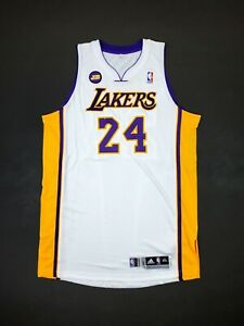 100% Authentic Kobe Bryant Adidas 2012 LA Lakers Game Issued Jersey 3XL+2""