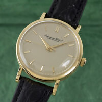 IWC Portofino 18k Gold Handaufzug Herrenuhr Vintage Cal 89 LP: 17700,- EUR