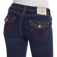 True Religion Women's Stella Skinny Fit Stretch Jeans in Frigid Blue