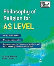 Philosophy of Religion for AS Level by Michael B. Wilkinson, Hugh N. Campbell (…