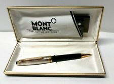 Authentic MONTBLANC Meisterstuck 165 Sterling Cap Mechanical Pencil GG101369