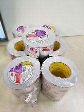 "Lot of 19 - 3M Tape Venture Aluminum Foil HVAC Tape Adhesive 2.5"" X 60yd 1581A"