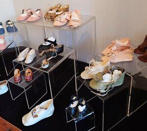 Antique & Vintage Doll Shoes Lot