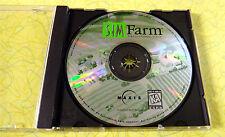 Sim Farm ~ PC CD Rom Game ~ Vintage Farming Simulation Windows Computer Game