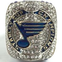 USA St. Louis Blues 2019 O'Reilly Stanley Cup Silver Championship Ring