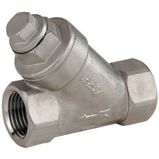 "316 STAINLESS STEEL VALVES - 1.1/4""BSP ""Y"" 316 ST/STEEL STRAINER 7-01844"