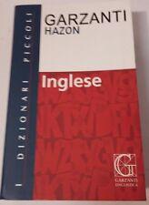 DIZIONARIO INGLESE HAZON I PICCOLI GARZANTI  9788848006705