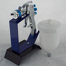 Devilbiss SLG-610 Solvent Gravity Spray Gun 1.3mm Tip + Bench Table Top Stand