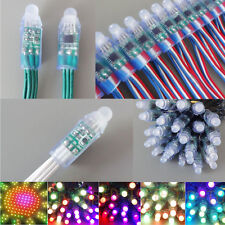 5000PCS WS2811 12mm Waterproof LED String Light Individual Addressable 5V 12V