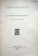 MILANO ETIMOLOGIA