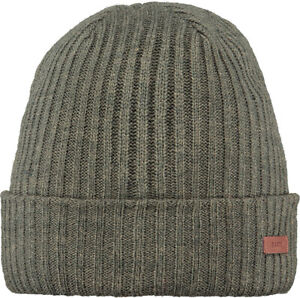 2020 NEW ADULT BARTS BEANIE WILBERT TURNUP HAT ARMY COLOUR TURN UP KNIT