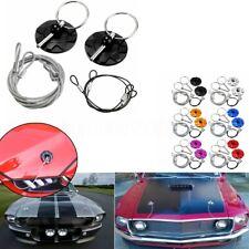 CNC Aluminum Universal Sport Car Racing Bonnet Hood Pin Lock No Drilling Require