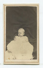 HIDDEN MOTHER WITH BABY PHOTO. CDV, INDIANAPOLIS, IND.