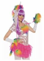 Rainbow Unicorn Tutu Costume Dress Adult Rave Cosplay - XS- Fast Ship - XSmall
