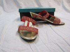 "BELLINI Womans 1"" Red Flavor Sandals - Size 11M - NIB"