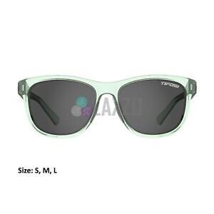 Tifosi Swank Single Lens Sports Eyewear Bottle Green/Smoke