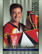 John Vanbiesbrouck 1997-98 Donruss Studio Portrait Florida Panthers #17 NM 8x10