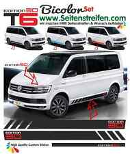 VW Bus t5 t6 Multivan Edition 30 Pages Bandes Autocollant Décor Set bicolore 9471