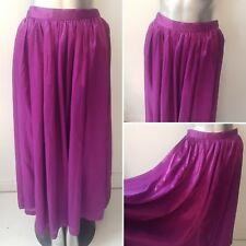PURPLE SWING SKIRT SIZE 10/12 1950S INSPIRED RETRO (9)