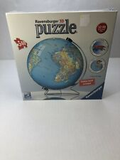 Ravensburger The World With Stand Globe 540 pc 3D Puzzle