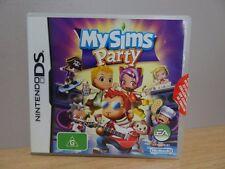 MySims Party...Nintendo DS...FREE POST AU