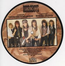45 TOURS SP PICTURE DISC QUIREBOYS THERE SHE GOES AGAIN Survival Records ‎1988