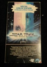 Star trek the motion picture vhs special longer version from block buster