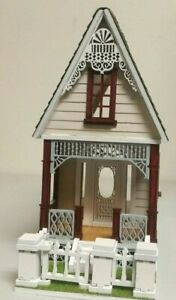 Little Ann 2 Victorian Cottage 1:48 Dollhouse (Milled siding / Asphalt Shingles)