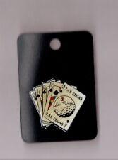 pin's casino / jeu de carte Las Vegas (époxy)