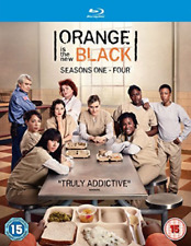 Orange Is The New Black Seasons 1 4  (UK IMPORT)  DVD NEW