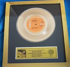 David Bowie - Space Oddity Gold Plated Award
