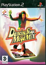 Dancing Stage Megamix Sony Playstation 2 PS2 3+ Music Game