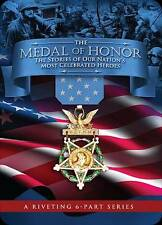 The Medal of Honor: The Stories of Our Nation's Most Celebrated Heroes NEW DVD!