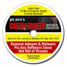 How To Be A Computer Expert in Removing Virus Spyware Malware - Ebooks on CD