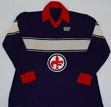1983-1984 FIORENTINA MATCH WORN ENNERE HOME FOOTBALL SHIRT (SIZE L)