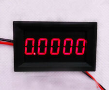 Digital LED Ammeter DC 0-3.0000A 5 Digit Amp Current Meter Power :5-30v 12v 24v