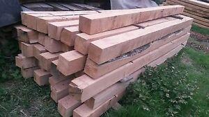 Kantholz 14x14, Eichenbalken 14 x 14 Kanthölzer aus Eiche, 2 m lang