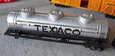 Vintage HO Scale Texaco TCX 270 Tank Car Missing Set of Trucks