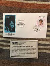 1977 Elvis Presley Grenada 1st day issue Commemorative Stamp
