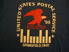 Vintage 90's UNITED STATES Post Office Ohio 1995 Running Marathon T Shirt M