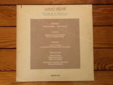 Arvo Pärt ‎– Tabula Rasa 1984 ECM New Series ‎25011-1 F Jacket VG+ Vinyl NM
