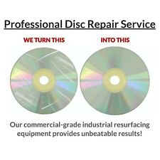 500 Disc Repair Service: CD, Xbox PlayStation Wii Games, DVD with Eco Master